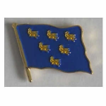 Sussex County Flag Enamel Pin Badge